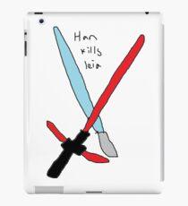 Han did kill leia iPad Case/Skin