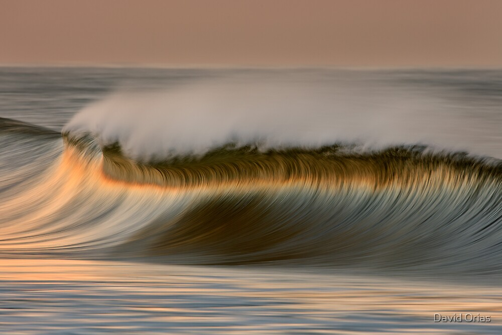 Cresting Wave by David Orias