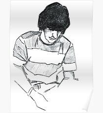 Ringo Starr - Graphic Portrait Poster