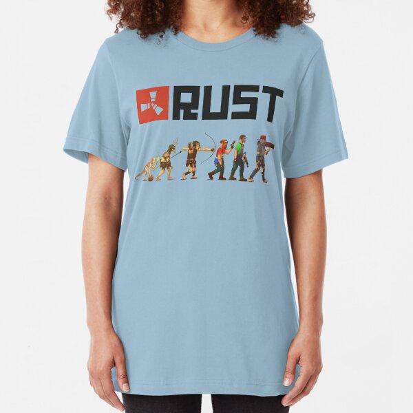 Rust Evolution Slim Fit T-Shirt