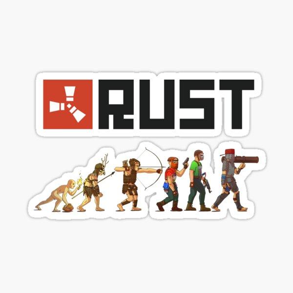 Rostentwicklung Sticker