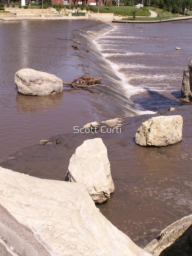 Kansas stream by Scott Curti
