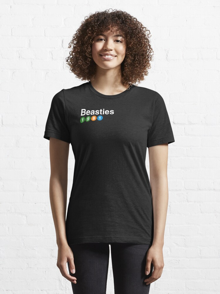 Alternate view of The Beasties - EST 1981 Essential T-Shirt