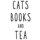 Cats Books and Tea by catloversaus