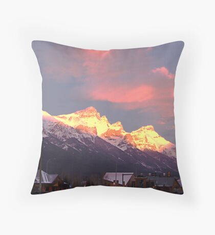 Dawn's Early Light Throw Pillow