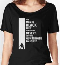 The Dark Tower - Desert white Women's Relaxed Fit T-Shirt
