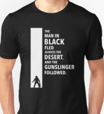 The Dark Tower - Desert white Unisex T-Shirt