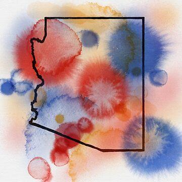Arizona Splash Canvas by theforaner