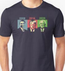 Obama, Trump, Bernie - Change Unisex T-Shirt