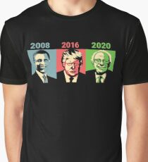 Obama, Trump, Bernie - Change Graphic T-Shirt