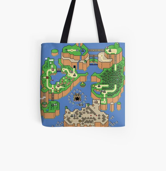 Ol' World View All Over Print Tote Bag