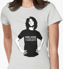 Dan Avidan Loves Haikus Womens Fitted T-Shirt