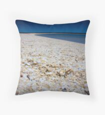 Shelly Beach Throw Pillow