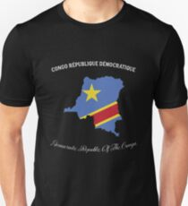 Democratic Republic Of The Congo Unisex T-Shirt