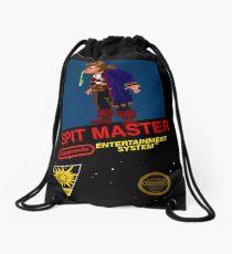 Spit Master - Lucastendo Entertainment System (Monkey Island) Drawstring Bag