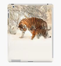 Tigers in the Snow Duvet Cover & Pillowcase Set Bedding iPad Case/Skin