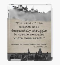 Bioshock Infinite R. Lutece Quote iPad Case/Skin