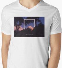 Rectangle x Lyrics No. 3 Men's V-Neck T-Shirt