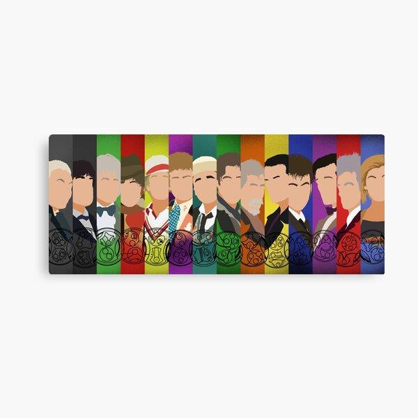 The 13 Doctors Canvas Print