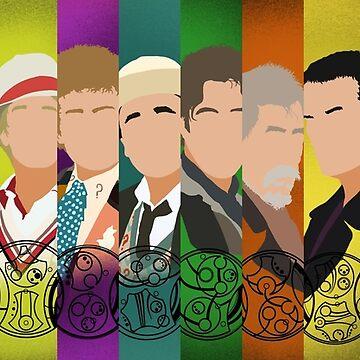 The 13 Doctors by MrSaxon101