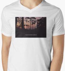 Rectangle x Lyrics No. 4 Men's V-Neck T-Shirt