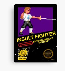 Insult fighter - Lucastendo entertainment system Canvas Print