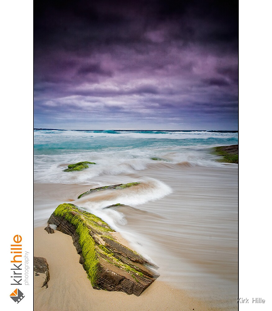 Honey Comb Beach by Kirk  Hille