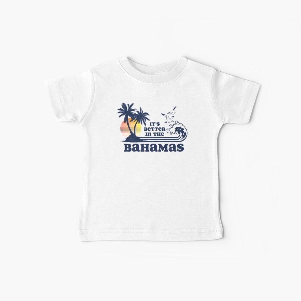 Es ist besser in den Bahamas Vintage 80er Jahre 70er Jahre Baby T-Shirt