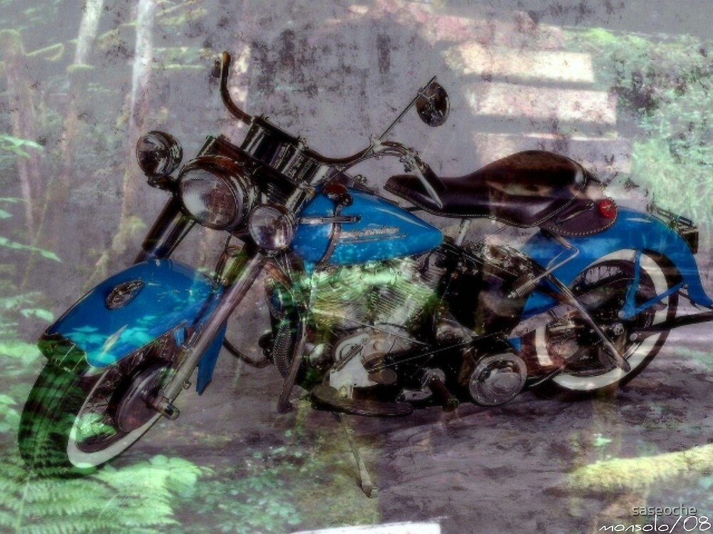Motor Bike by saseoche