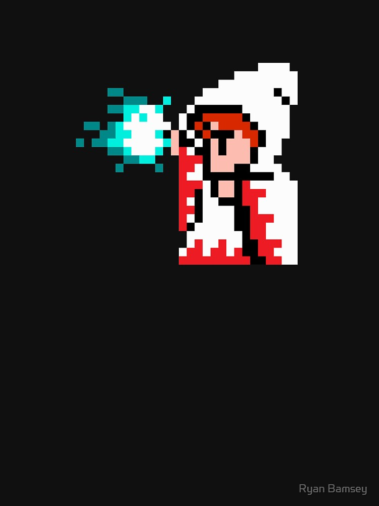 8 Bit White Mage | Unisex T-Shirt