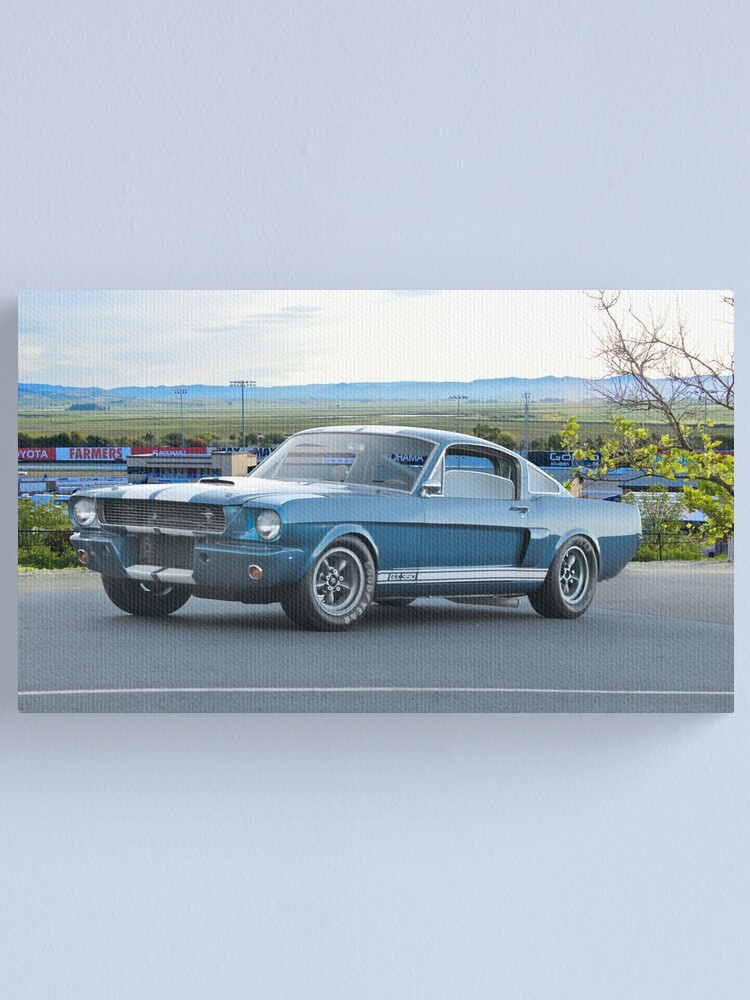 Mustang Canvas Print 20*30 Inch HUGE !