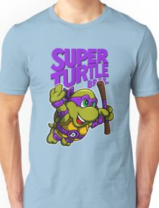 Super Turtle Bros Purple T-shirt Unisex