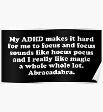 Adhd Digital Art Posters | Redbubble