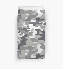 Urban Camouflage Pattern Duvet Cover