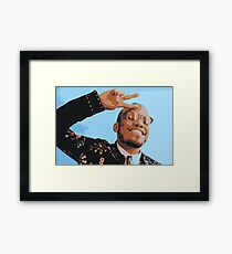 Anderson .Paak Framed Print