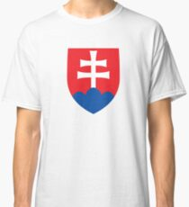 Roundel of the Slovak Air Force  Classic T-Shirt