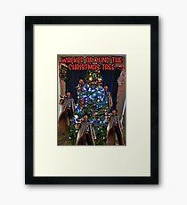 Walker Christmas Tree Framed Print