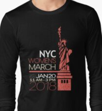NYC Women's March 2018 Long Sleeve T-Shirt