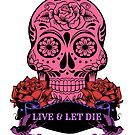 Candy Skull Live & Let Die by fantasytripp
