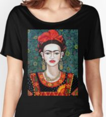 Frida,  Queen of Hearts closer I Women's Relaxed Fit T-Shirt