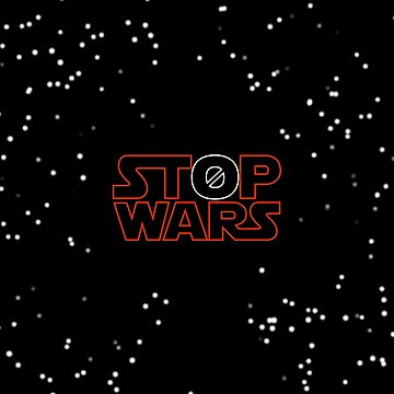 stop wars - red! by g10store