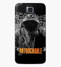 Untouchable, T-Shirt, Eminem Revival Album, Word Cloud with Grunge American Flag Case/Skin for Samsung Galaxy