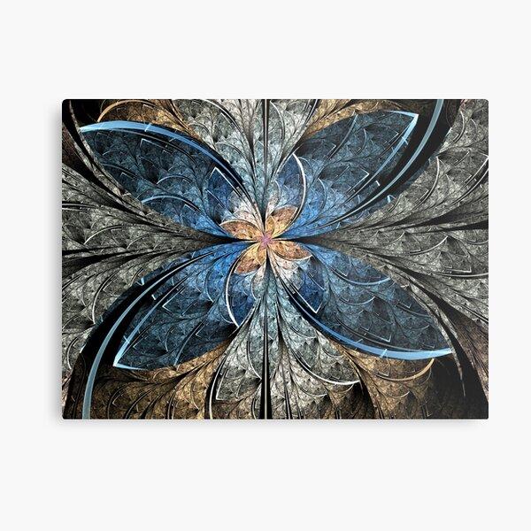 Elliptic Butterfly Metal Print
