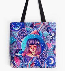Swirling Universe Tote Bag