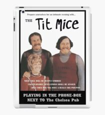 Tit Mice Telephone Box Gig iPad Case/Skin