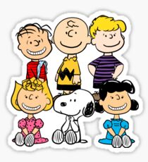 Peanuts - Charlie Brown, Snoopy Sticker