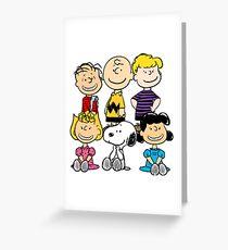 Peanuts - Charlie Brown, Snoopy Greeting Card