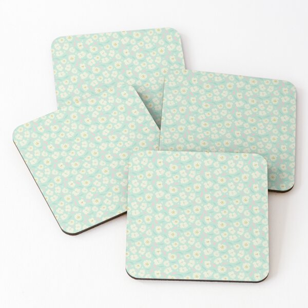 Little Flowers Coasters (Set of 4)