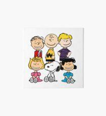 Peanuts - Charlie Brown, Snoopy Art Board