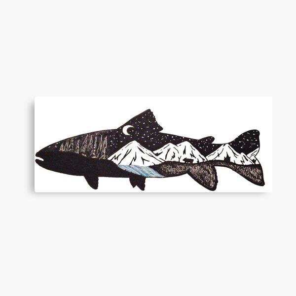 Mountain Trout Canvas Print